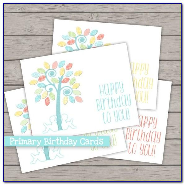 Lds Missionary Birthday Cards