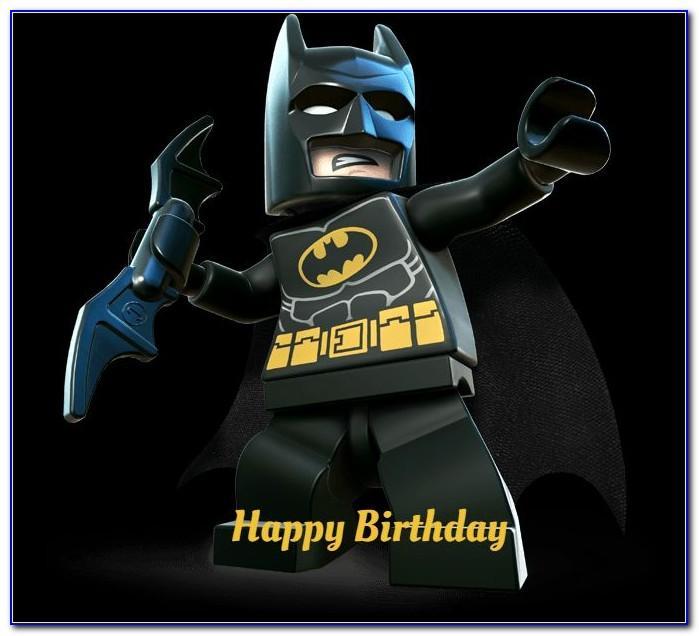 Lego Batman Birthday Card Uk