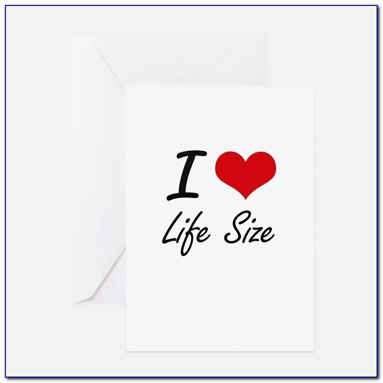 Life Size Birthday Cards Uk