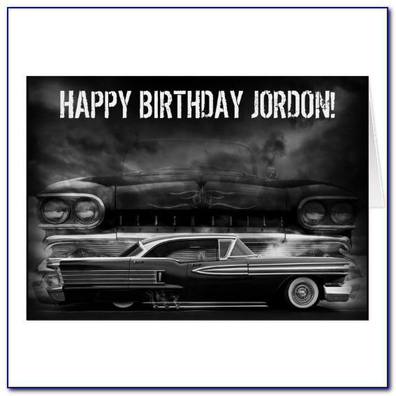Lowrider Happy Birthday Cards