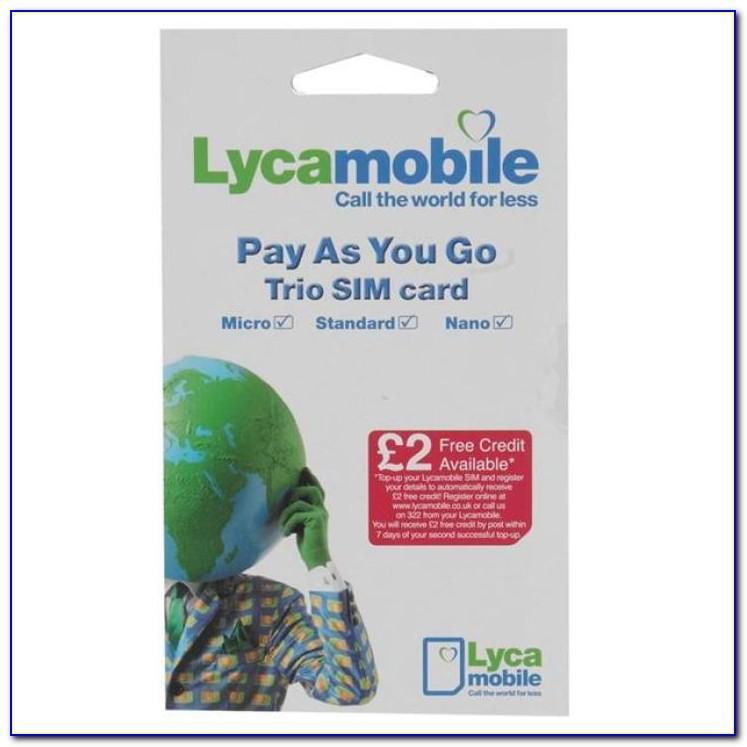 Lyca Sim Card Usa Review