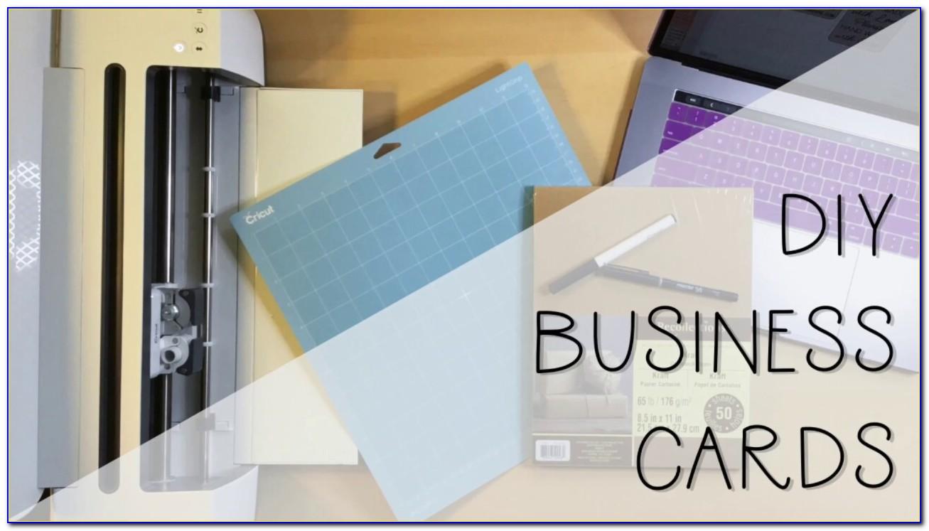 Making Business Cards On Cricut Maker