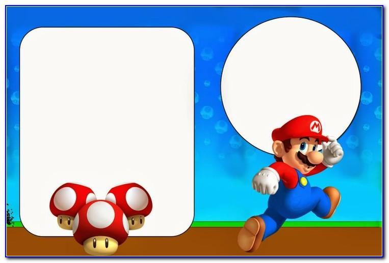 Mario Birthday Card Hallmark