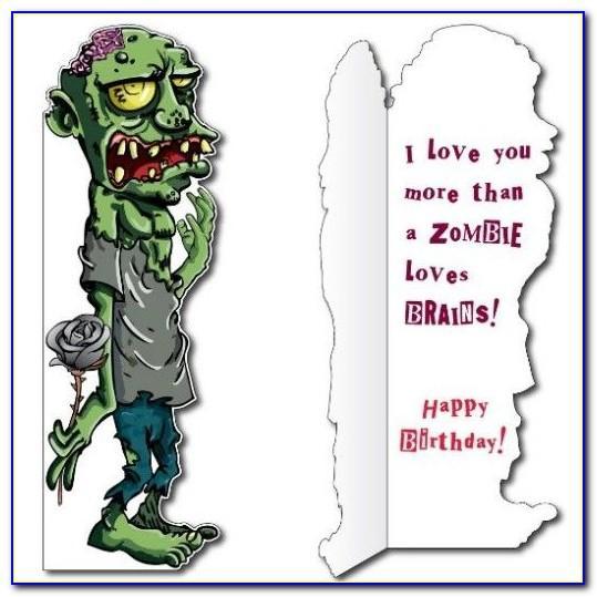 Mario Brothers Birthday Card