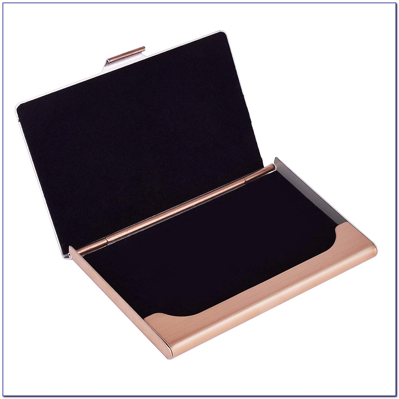 Maxgear Business Card Holder Box