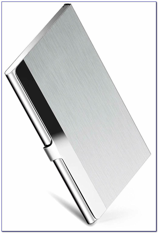 Maxgear Professional Business Card Holder