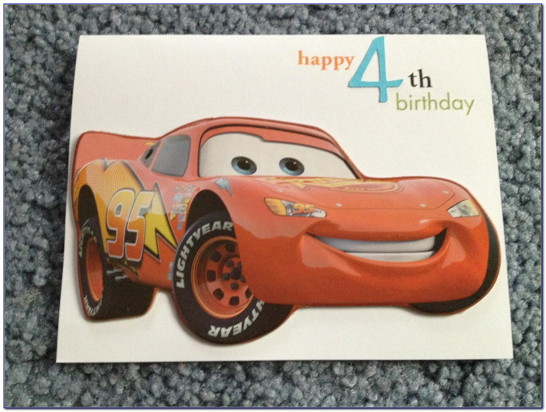 Mcqueen Birthday Card Template
