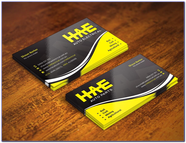 Mechanic Business Card Templates Free