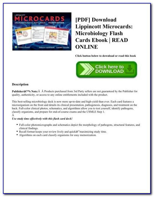 Medical Microbiology And Immunology Flashcards Rosenthal Pdf Free Download