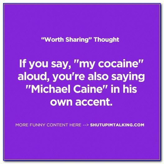 Michael Caine Birthday Card Talking