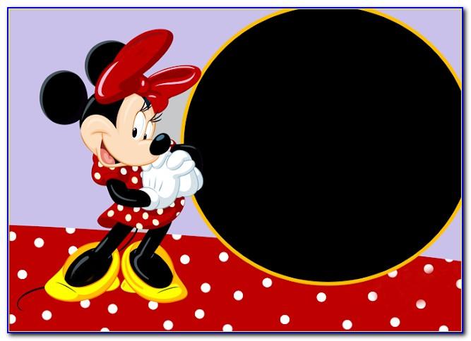 Mickey Mouse Birthday Card Printable