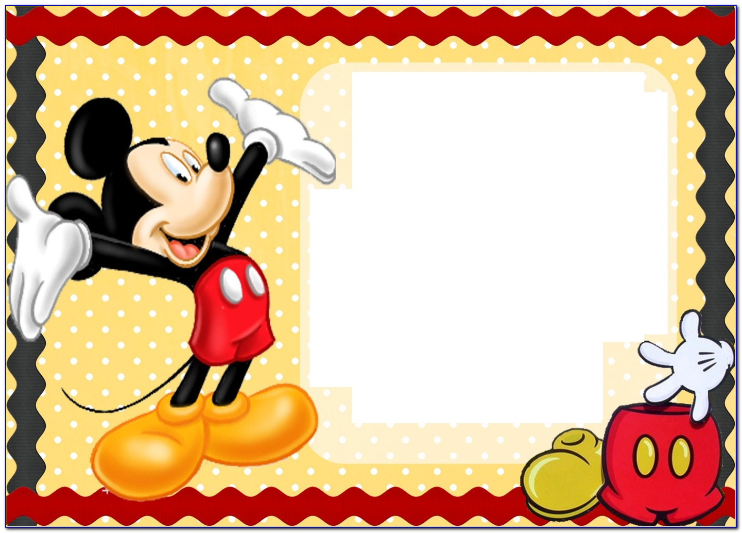 Mickey Mouse Birthday Cards Online