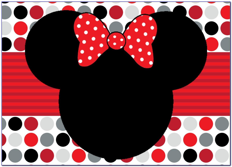 Mickey Mouse Birthday Invitation Card Maker
