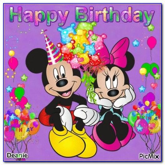 Mickey Mouse Birthday Invitation Card Online