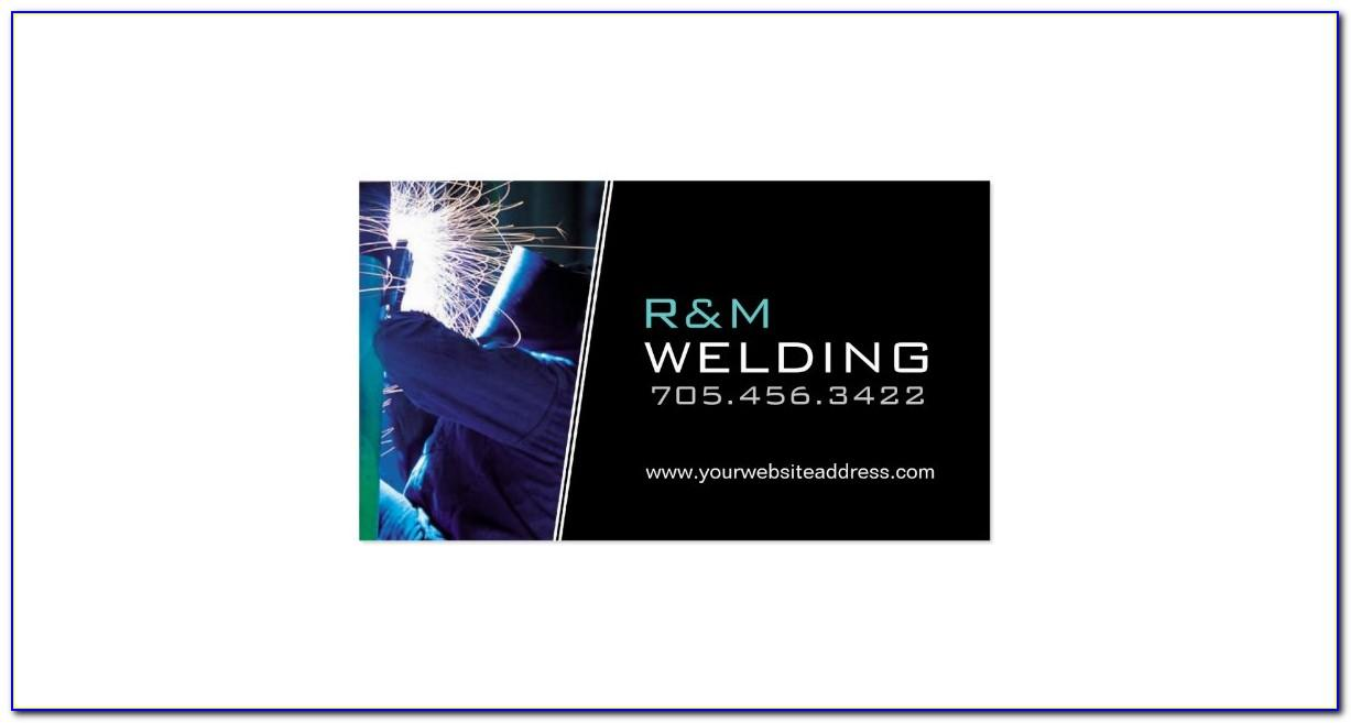 Mobile Welding Business Cards