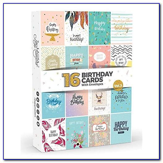 Multipack Birthday Cards Uk