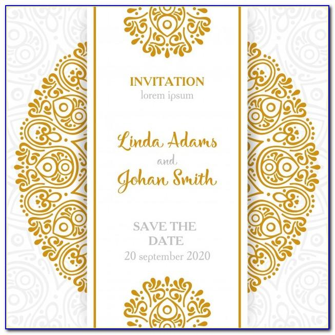 Muslim Wedding Card Designs Free Download