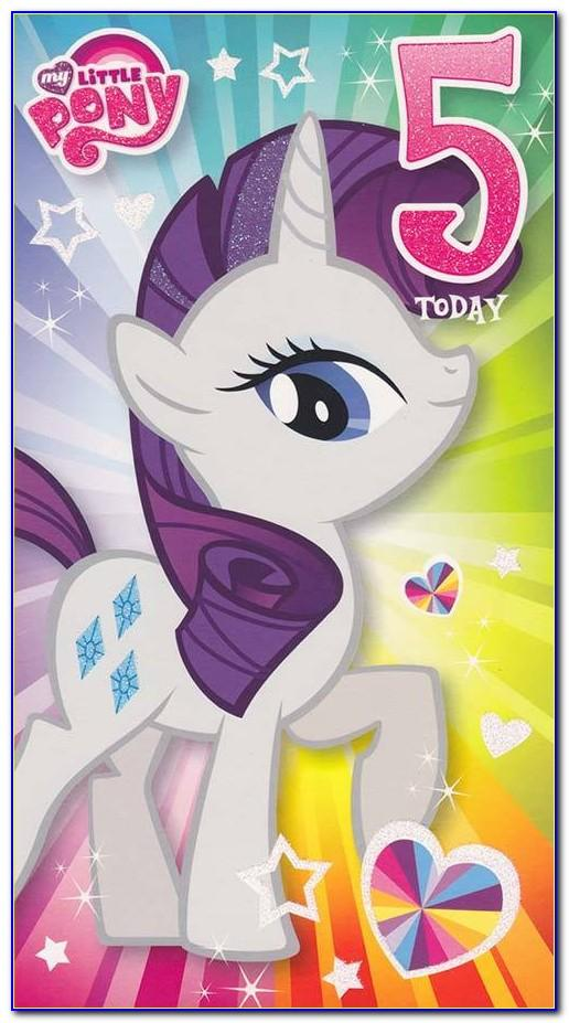 My Little Pony Birthday Card Uk