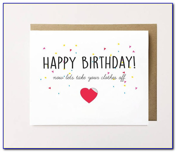 Naughty Birthday Cards For Him