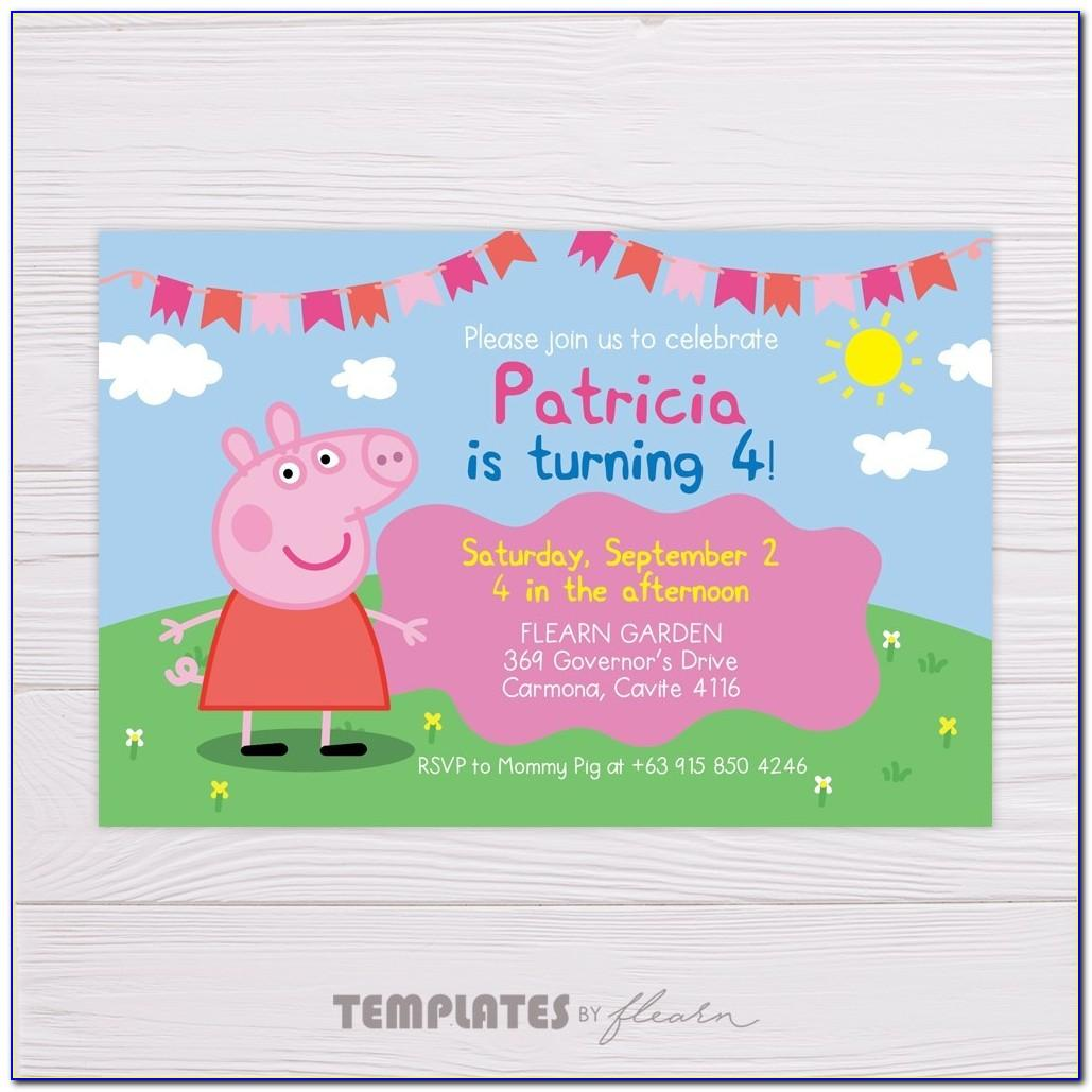Peppa Pig Birthday Cards Granddaughter