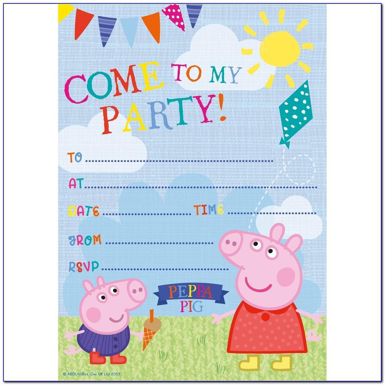 Peppa Pig Birthday Cards Grandson