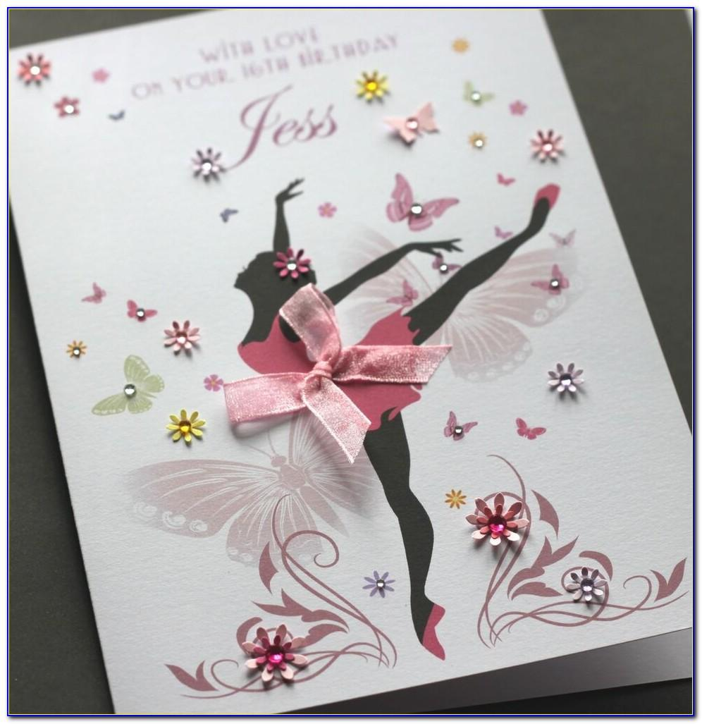 Personalised 21st Daughter Birthday Cards