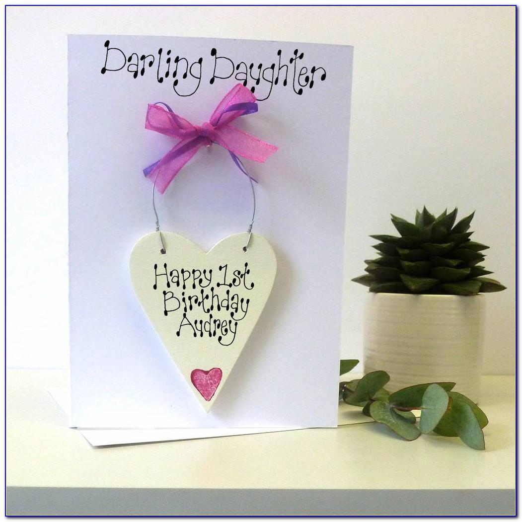 Personalised Daughter 18th Birthday Cards