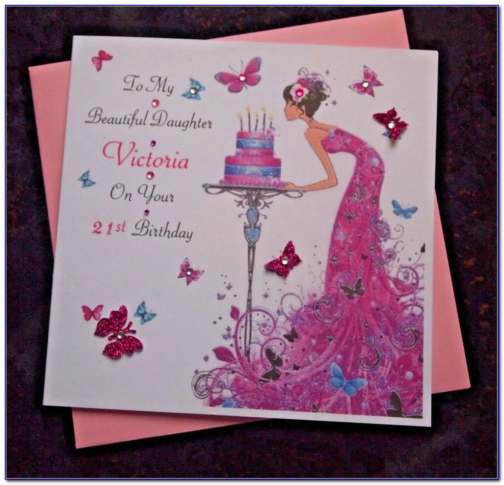 Personalised Daughter 50th Birthday Cards