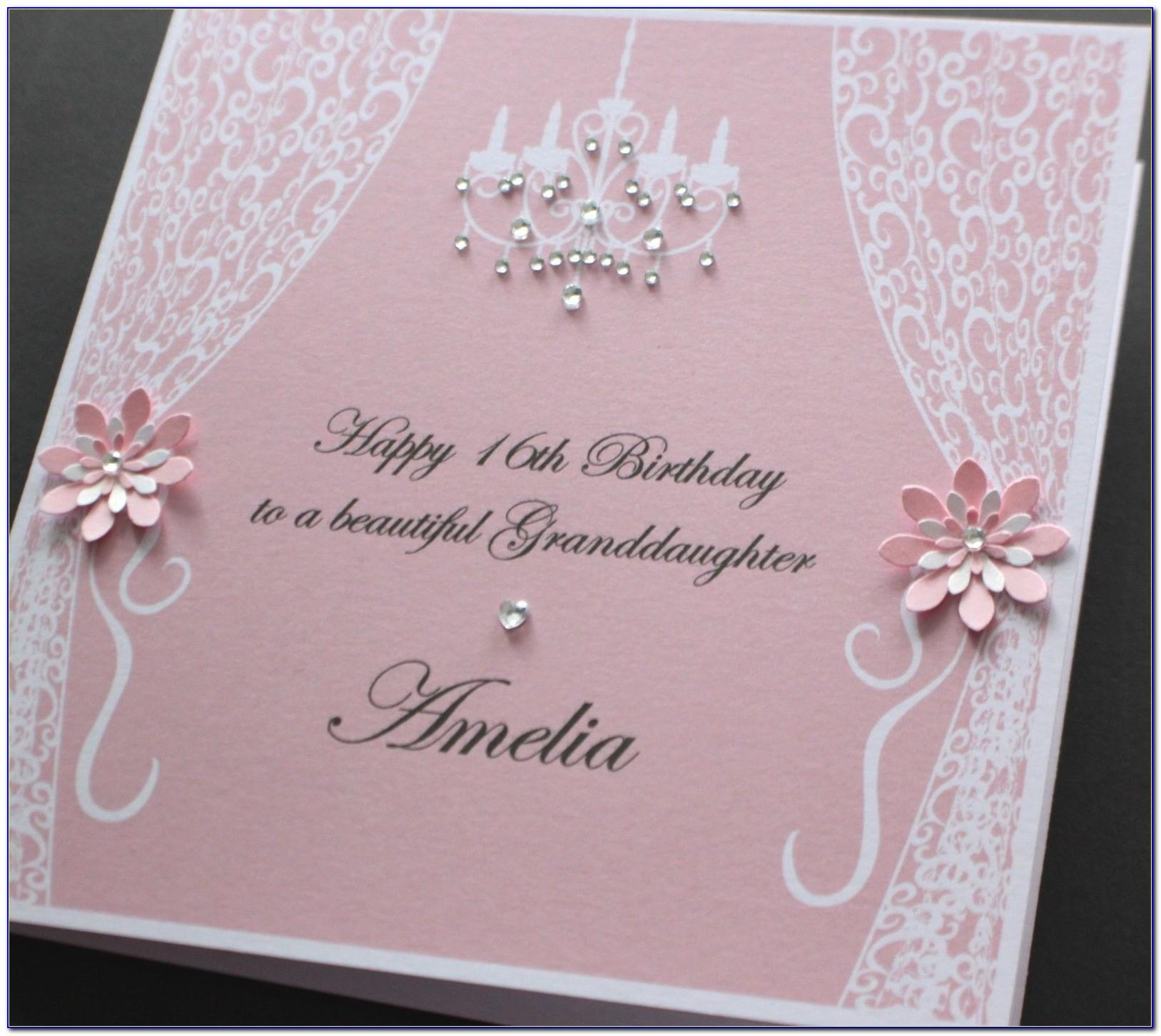 Personalised Daughter Birthday Cards
