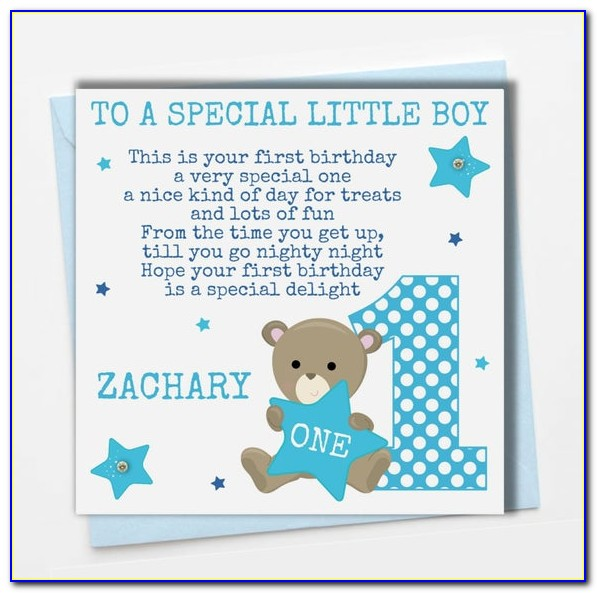 Personalised First Birthday Card Daughter