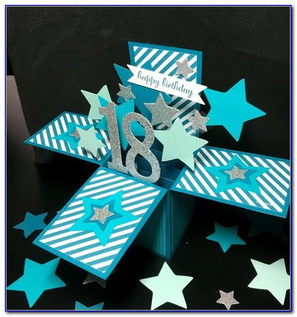 Personalised Pop Up 18th Birthday Cards