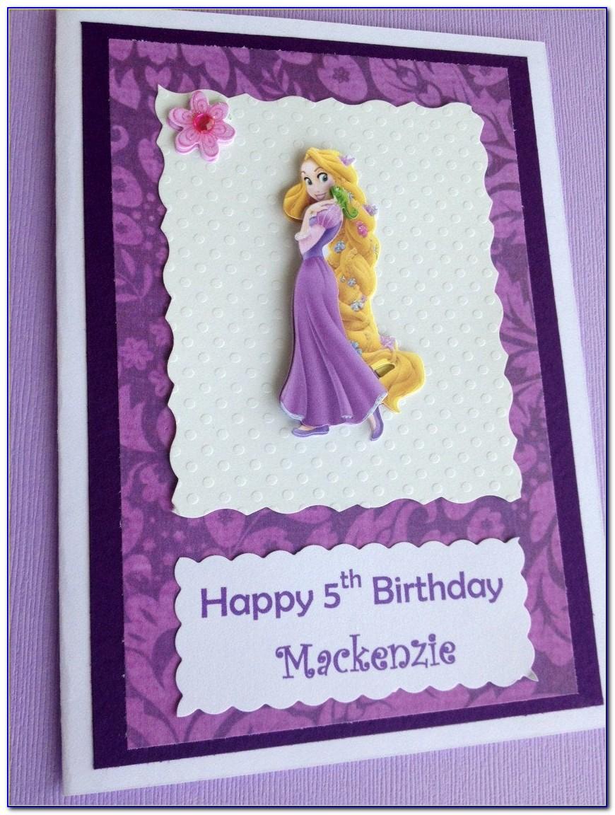Personalized Disney Birthday Cards