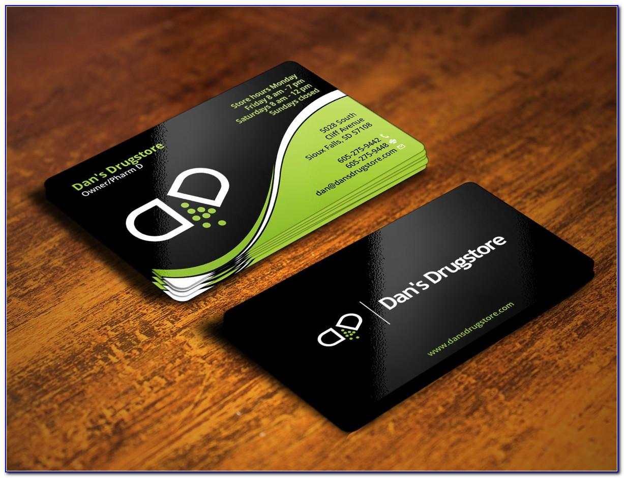 Pharmacy Business Visiting Card Design