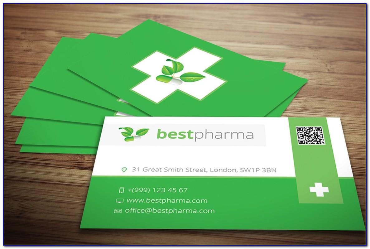 Pharmacy Visiting Card Design