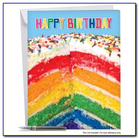 Photo Birthday Invitation Card