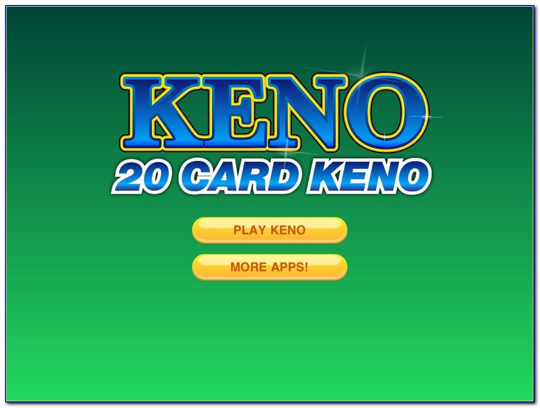Play 20 Card Keno Free Online