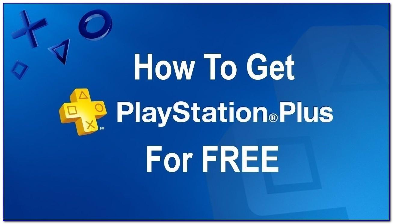 Playstation Plus Card Free Trial
