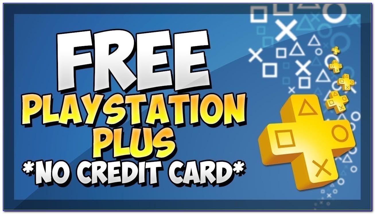 Playstation Plus Free Trial No Credit Card
