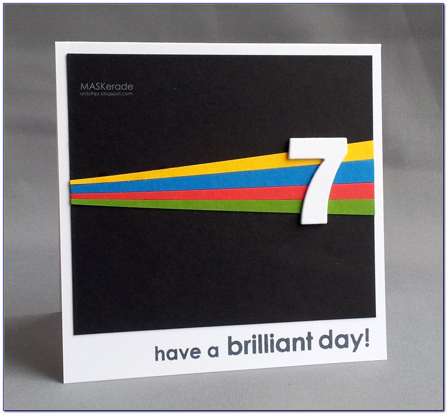 Pop Up 70th Birthday Card