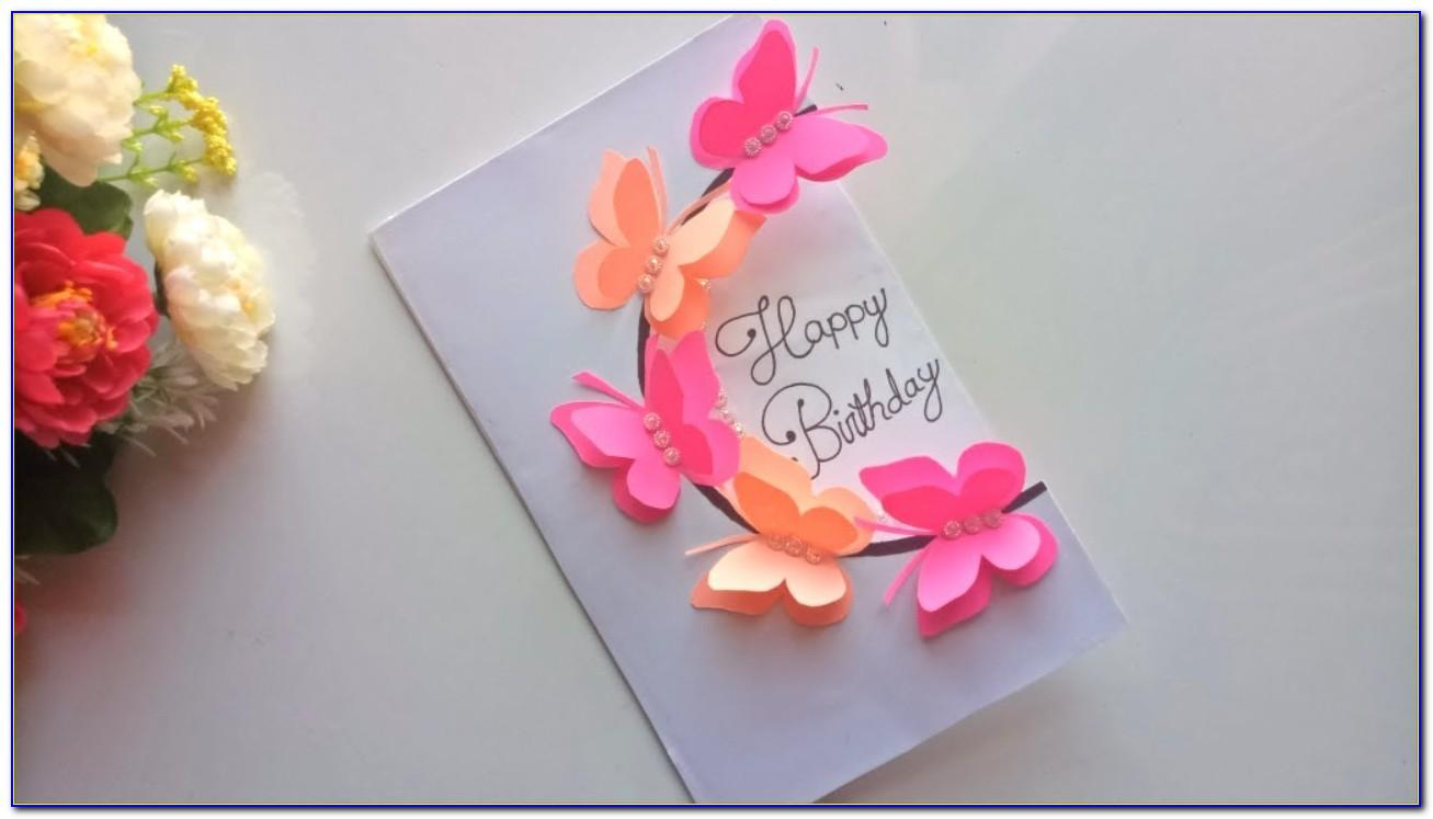 Pop Up Greeting Cards For Birthday