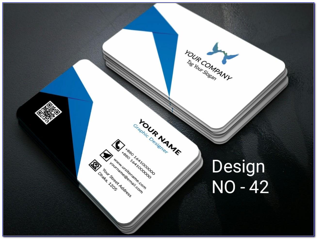 Presentation Folders Vertical Business Card Slits