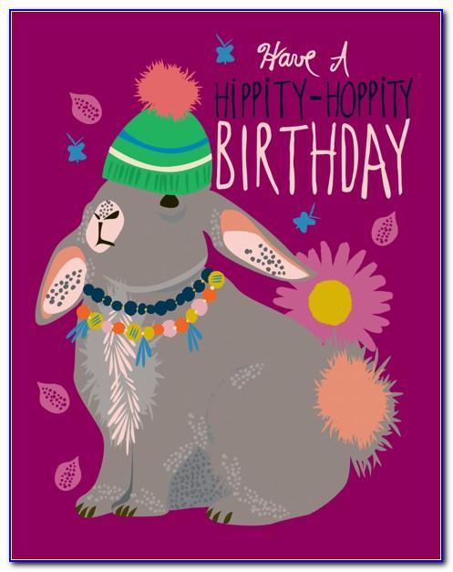Princess Themed Birthday Card Template