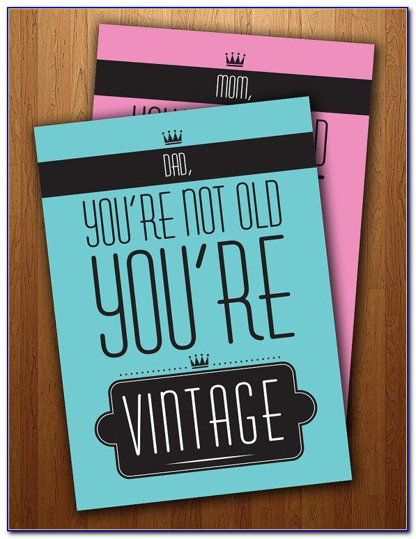 Printable Birthday Cards For Daddy