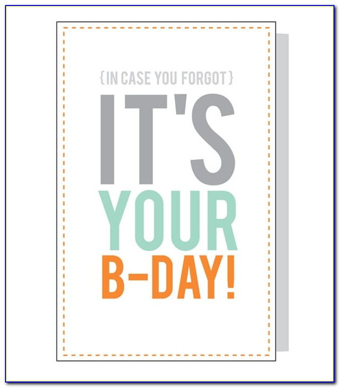 Printable Birthday Cards For Him Free