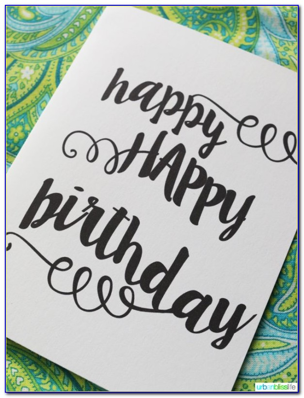 Printable Birthday Cards For Him Funny