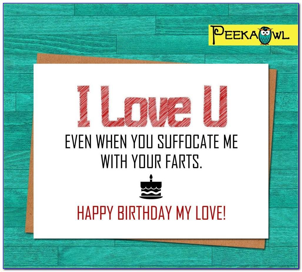 Printable Birthday Cards For My Boyfriend