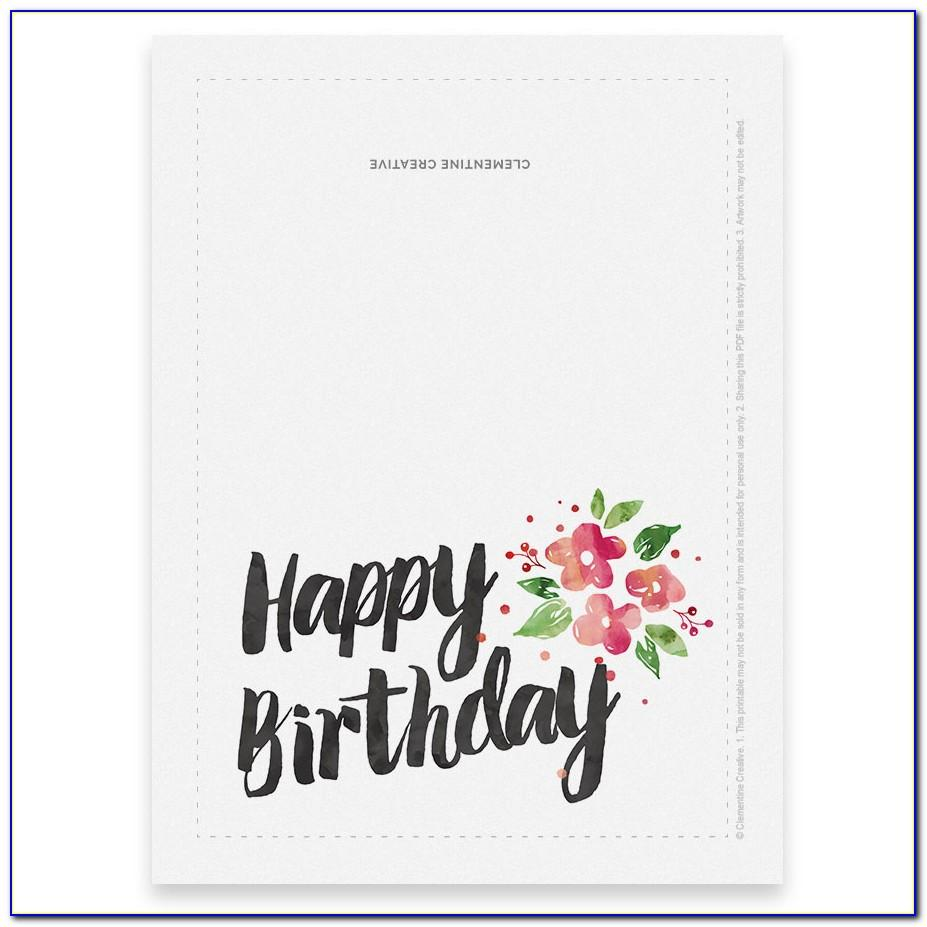 Printable Birthday Cards For My Wife
