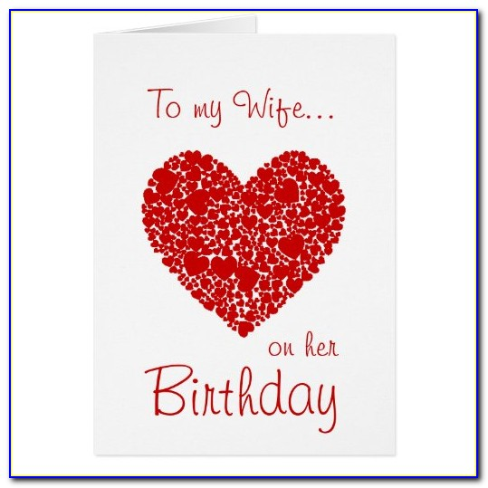Printable Romantic Birthday Cards For Her