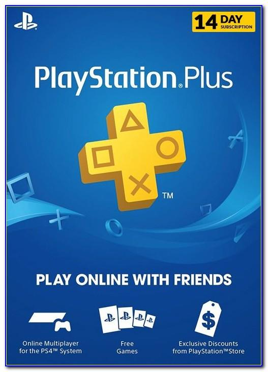 Ps Plus Card Free