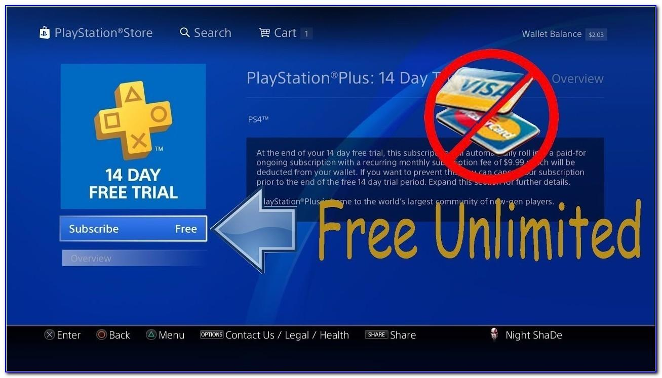 Ps Plus Gift Card Free